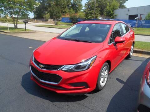 2018 Chevrolet Cruze for sale at AUTO MART in Montgomery AL