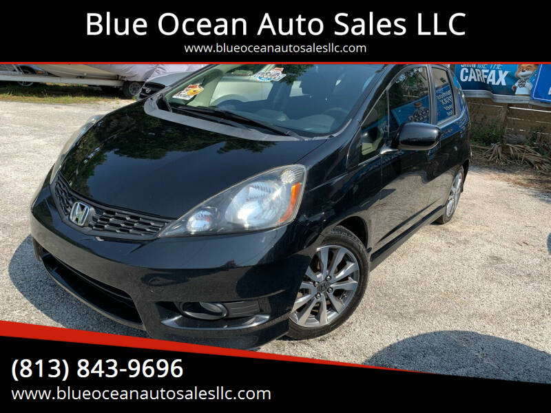 2013 Honda Fit for sale at Blue Ocean Auto Sales LLC in Tampa FL
