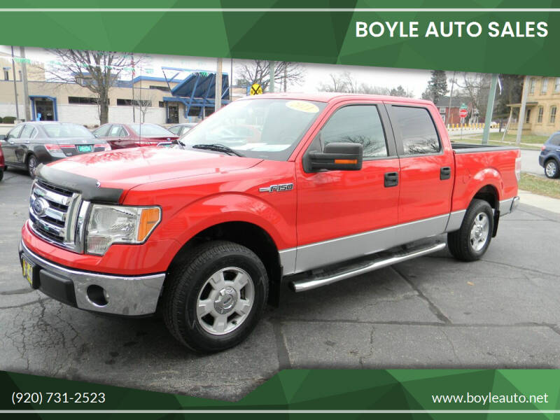 2011 Ford F-150 for sale at Boyle Auto Sales in Appleton WI