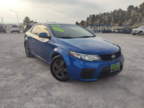2011 Kia Forte Koup for sale at Canyon View Auto Sales in Cedar City UT