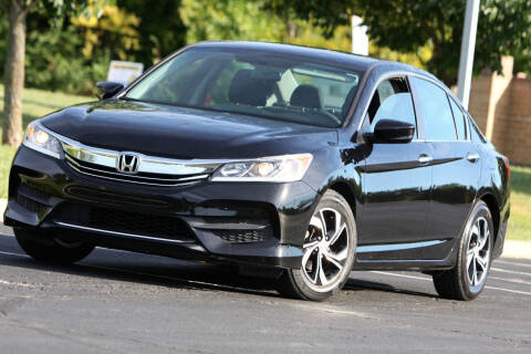 2017 Honda Accord for sale at P M Auto Gallery in De Soto KS