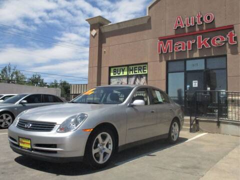 2003 Infiniti G35 for sale at Auto Market in Oklahoma City OK
