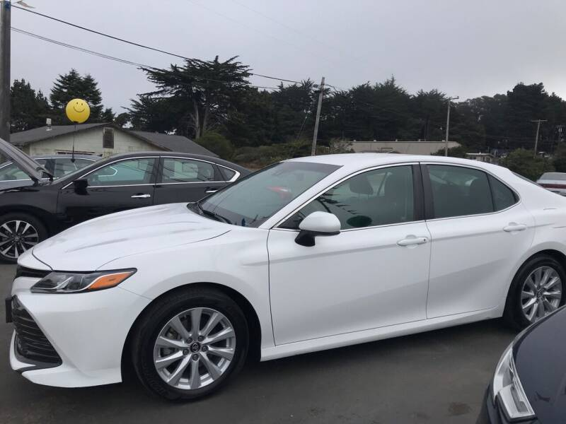 2018 Toyota Camry for sale at HARE CREEK AUTOMOTIVE in Fort Bragg CA