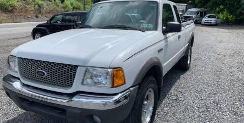 2001 Ford Ranger for sale at JM Auto Sales in Shenandoah PA