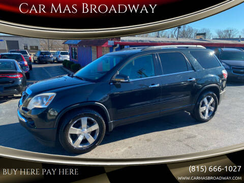 2011 GMC Acadia for sale at Car Mas Broadway in Crest Hill IL