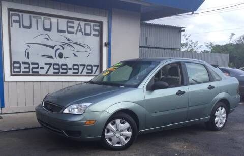 2005 Ford Focus for sale at AUTO LEADS in Pasadena TX