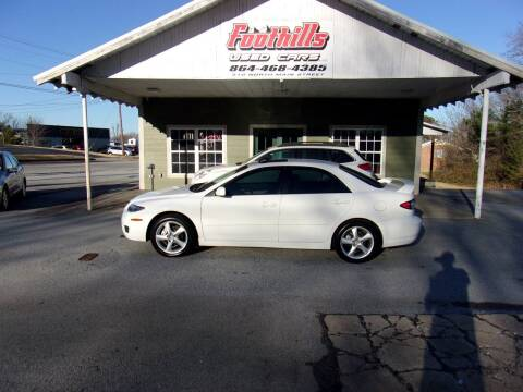 2007 Mazda MAZDA6 for sale at Foothills Used Cars LLC in Campobello SC