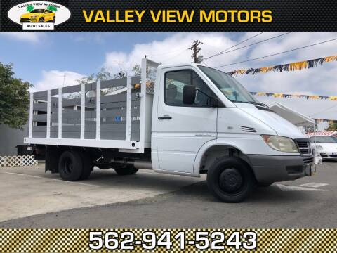 2004 Dodge Sprinter Cab Chassis for sale at Valley View Motors in Whittier CA