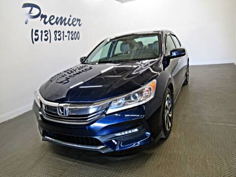 2016 Honda Accord for sale at Premier Automotive Group in Milford OH