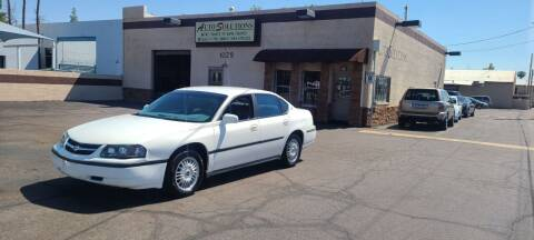 2002 Chevrolet Impala for sale at Auto Solutions in Mesa AZ