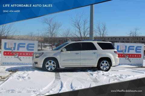 2013 GMC Acadia for sale at LIFE AFFORDABLE AUTO SALES in Columbus OH