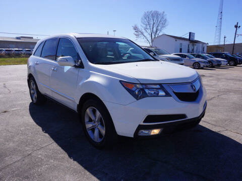 2010 Acura MDX for sale at BLUE RIBBON MOTORS in Baton Rouge LA