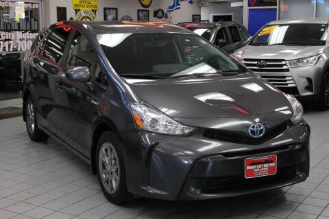 2017 Toyota Prius v for sale at Windy City Motors in Chicago IL