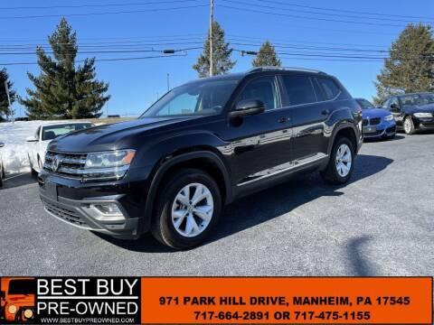 2019 Volkswagen Atlas for sale at Best Buy Pre-Owned in Manheim PA