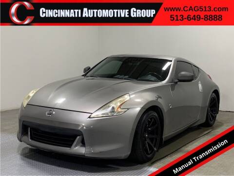 2009 Nissan 370Z for sale at Cincinnati Automotive Group in Lebanon OH