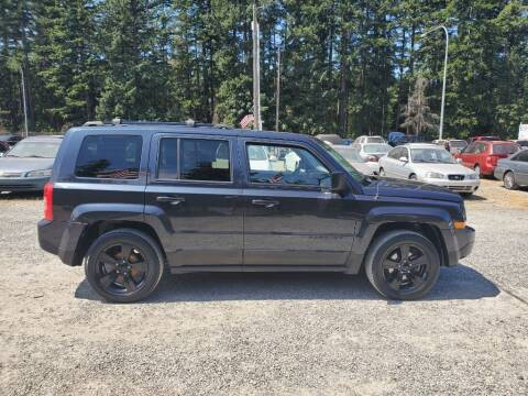 2015 Jeep Patriot for sale at WILSON MOTORS in Spanaway WA