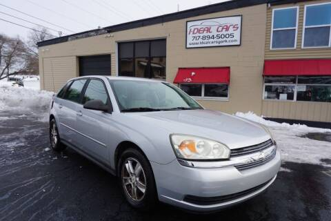 2005 Chevrolet Malibu Maxx for sale at I-Deal Cars LLC in York PA