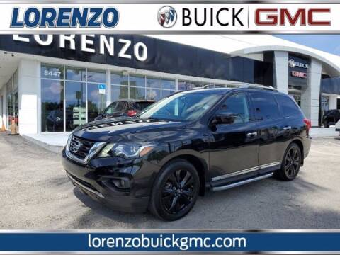 2017 Nissan Pathfinder for sale at Lorenzo Buick GMC in Miami FL