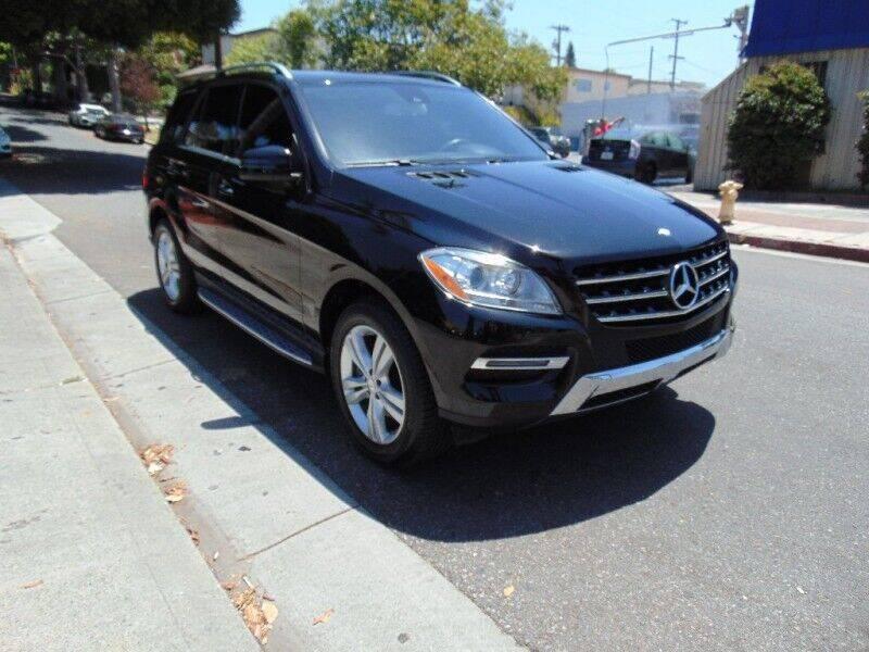 2013 Mercedes-Benz M-Class for sale at Santa Monica Suvs in Santa Monica CA