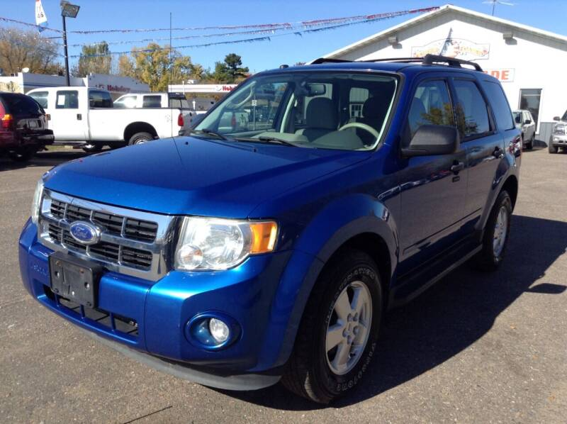 2011 Ford Escape for sale at Steves Auto Sales in Cambridge MN