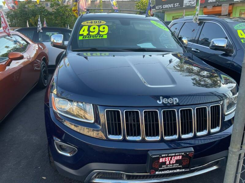 2015 Jeep Grand Cherokee for sale at Best Cars R Us LLC in Irvington NJ