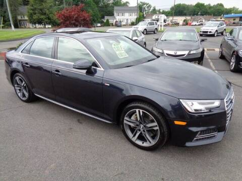 2017 Audi A4 for sale at BETTER BUYS AUTO INC in East Windsor CT