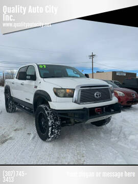 2007 Toyota Tundra for sale at Quality Auto City Inc. in Laramie WY