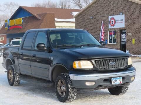 2001 Ford F-150 for sale at Big Man Motors in Farmington MN