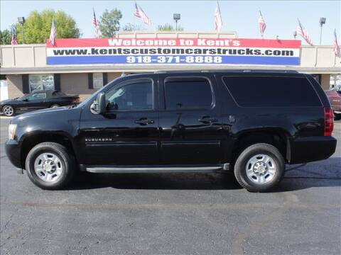 2010 Chevrolet Suburban for sale at Kents Custom Cars and Trucks in Collinsville OK