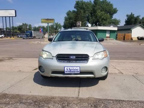 2006 Subaru Outback for sale at Alpine Motors LLC in Laramie WY