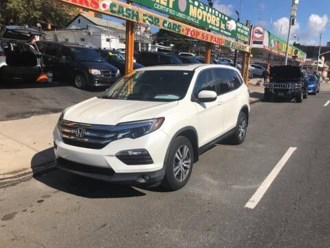 2017 Honda Pilot for sale at Sylhet Motors in Jamacia NY