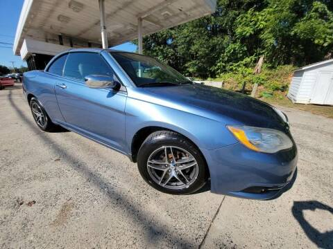 2011 Chrysler 200 Convertible for sale at McAdenville Motors in Gastonia NC
