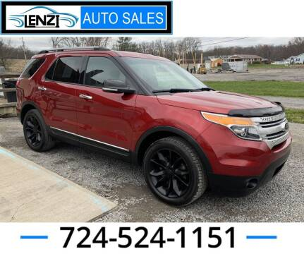 2013 Ford Explorer for sale at LENZI AUTO SALES in Sarver PA