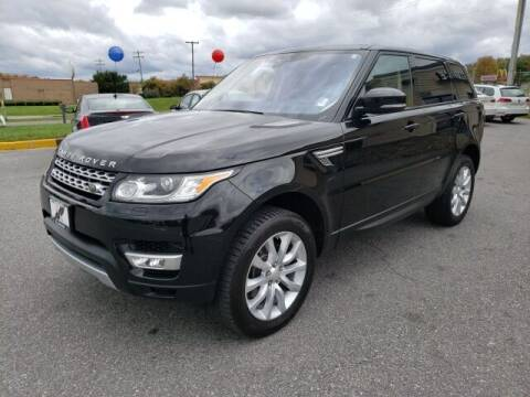 2017 Land Rover Range Rover Sport for sale at Hi-Lo Auto Sales in Frederick MD