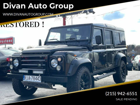 1989 Land Rover Defender for sale at Divan Auto Group in Feasterville PA