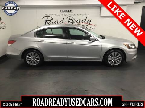 2011 Honda Accord for sale at Road Ready Used Cars in Ansonia CT