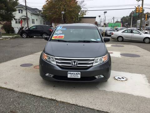 2013 Honda Odyssey for sale at Steves Auto Sales in Little Ferry NJ