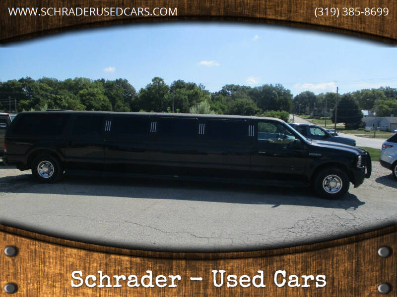 2005 Ford Excursion for sale at Schrader - Used Cars in Mount Pleasant IA