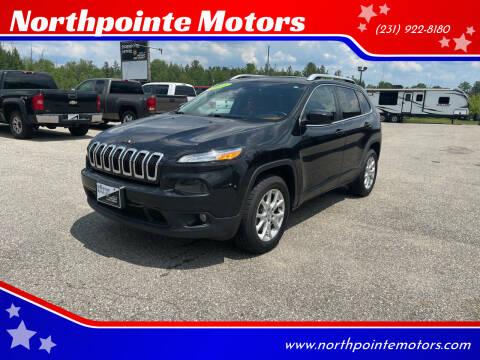 2015 Jeep Cherokee for sale at Northpointe Motors in Kalkaska MI