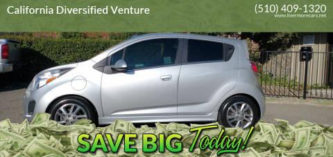 2015 Chevrolet Spark EV for sale at California Diversified Venture in Livermore CA