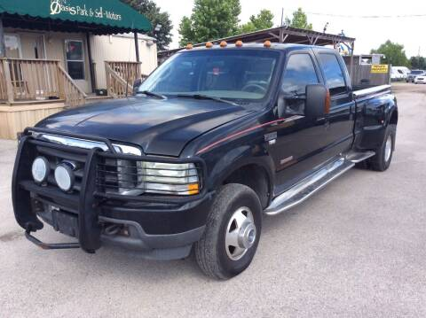 2003 Ford F-350 Super Duty for sale at OASIS PARK & SELL in Spring TX