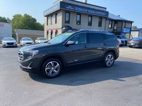 2018 GMC Terrain for sale at Sisson Pre-Owned in Uniontown PA