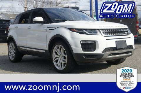 2016 Land Rover Range Rover Evoque for sale at Zoom Auto Group in Parsippany NJ