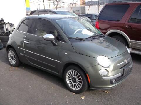 2012 FIAT 500 for sale at Topchev Auto Sales in Elizabeth NJ