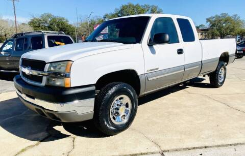 2003 Chevrolet Silverado 2500HD for sale at Affordable Auto Spot in Houston TX