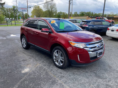 2013 Ford Edge for sale at JERRY SIMON AUTO SALES in Cambridge NY