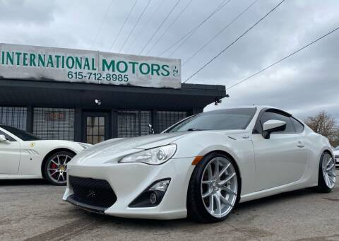 2013 Scion FR-S for sale at International Motors Inc. in Nashville TN