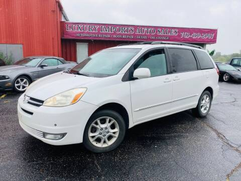2005 Toyota Sienna for sale at LUXURY IMPORTS AUTO SALES INC in North Branch MN