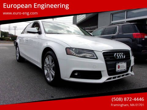 2011 Audi A4 for sale at European Engineering in Framingham MA