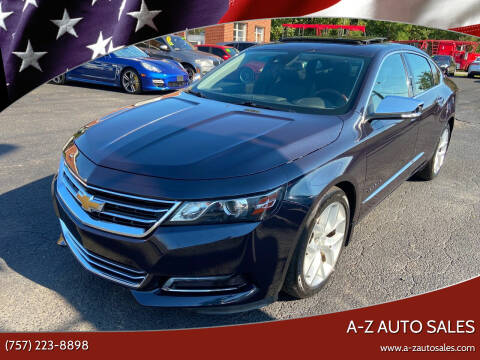 2014 Chevrolet Impala for sale at A-Z Auto Sales in Newport News VA